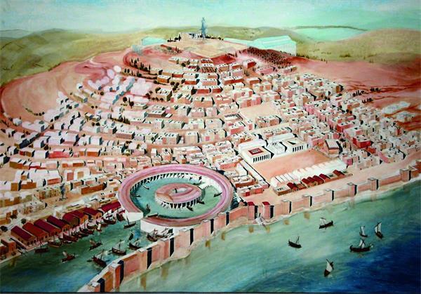 欧亚大陆两端的罗马帝国和汉帝国