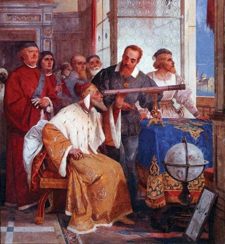 伽利略是怎样发明天文望远镜的?