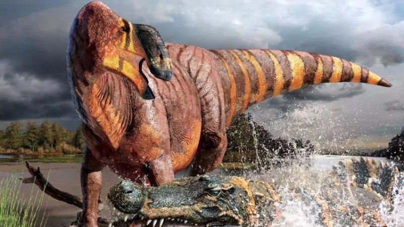 霸王龙都怕的始前巨鳄真的存在吗?