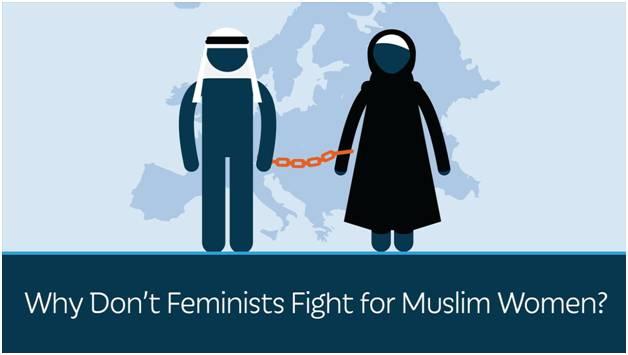 为什么女权主义者不为穆斯林妇女而斗争?