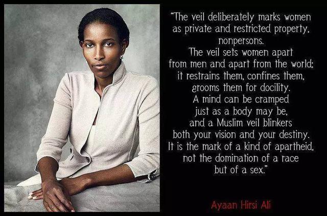 """揭开""""伊斯兰恐惧症""""的面纱 :对话阿亚安·希尔西·阿里 (二)"""